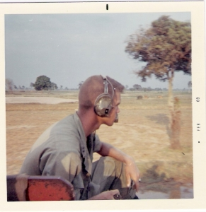 David R. Crocker, Jr., in Vietnam, 1969