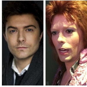 "Transformation from Bean to Bowie in ""Vinyl"" on HBO"